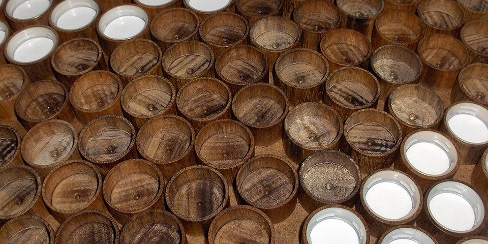 Gedrechselte Flaschenverschlüsse