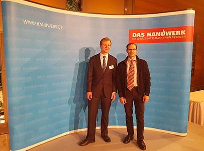 Bundessieger 2019 im Drechslerhandwerk , Ferdinand Bötel (links im Bild) ZDH-15