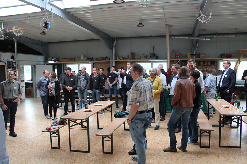 Sommerfest 2019 der Tischler-Innung in der neuen Werkstatt